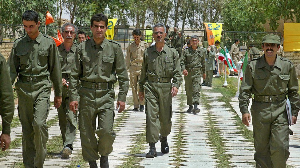 MEK members were initially based in Camp Ashraf, near the Iranian border; but later relocated to Camp Liberty in Baghdad