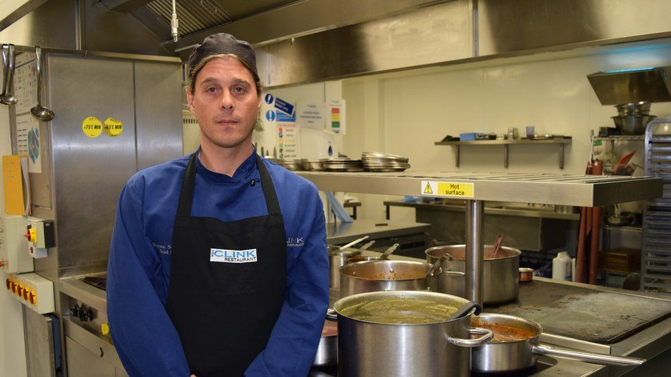 The Clink Cardiff chef Rob, 39