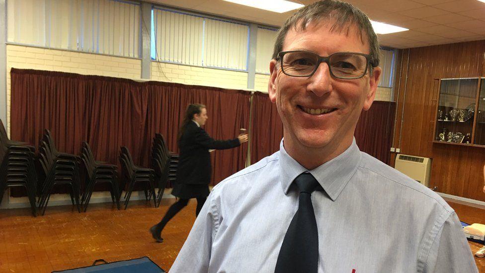 Alastair McFarland, a teacher at Limavady High School