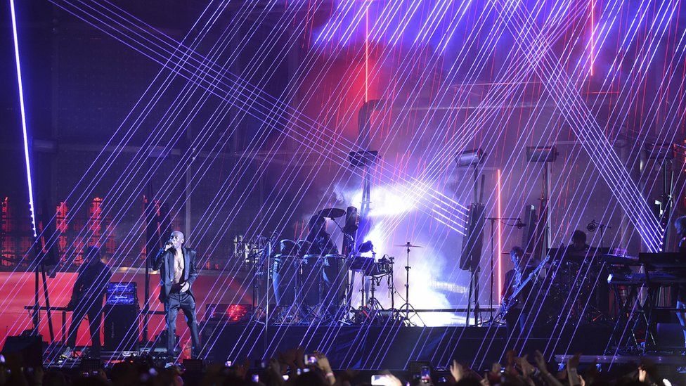 Faithless performed at the BBC Music Awards in 2015