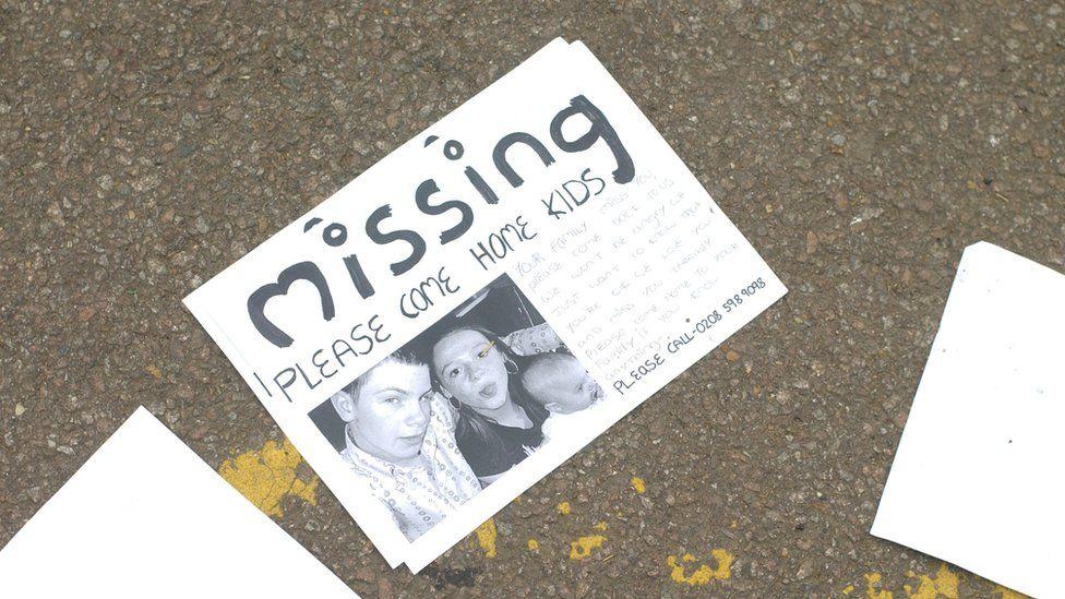 EastEnders missing poster