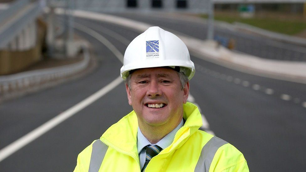 Infrastructure secretary Keith Brown