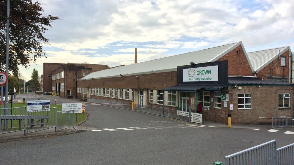 Crown Packaging at Neath