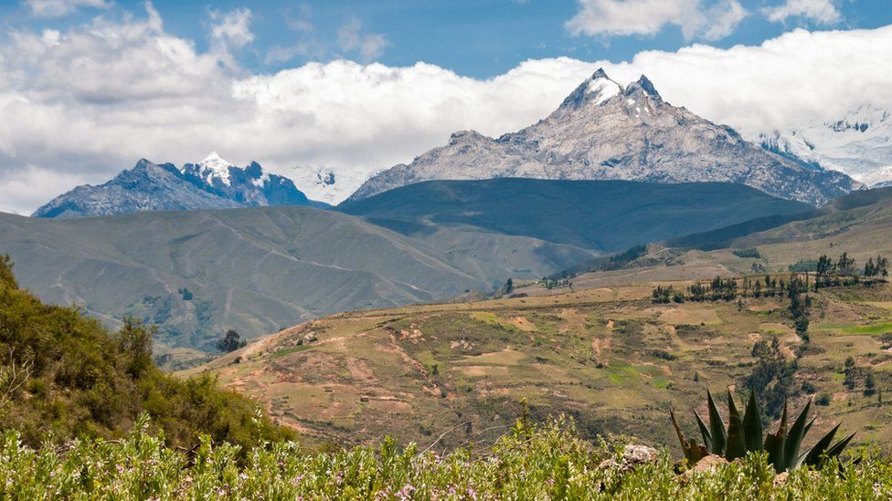 The Andes in Peru