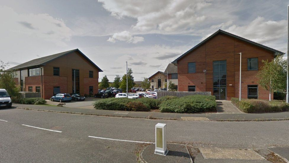 Business buildings in Compass Point, Market Harborough