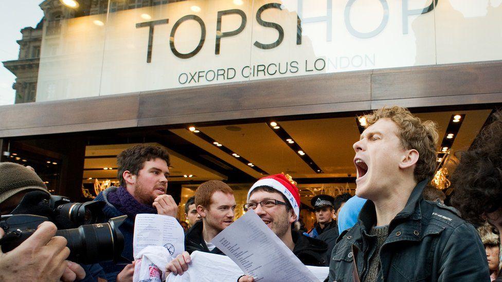 Activists target Topman