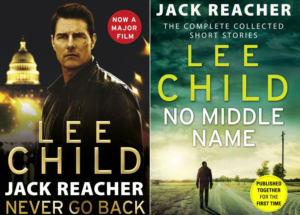 Lee Child book covers