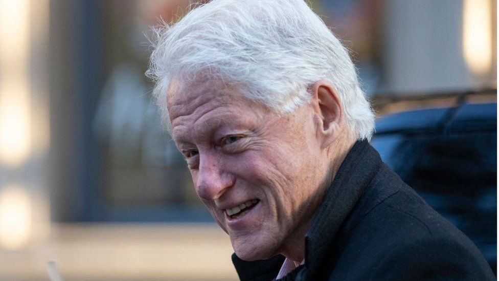 Bill Clinton: Former US president in hospital for 'non-Covid infection' thumbnail