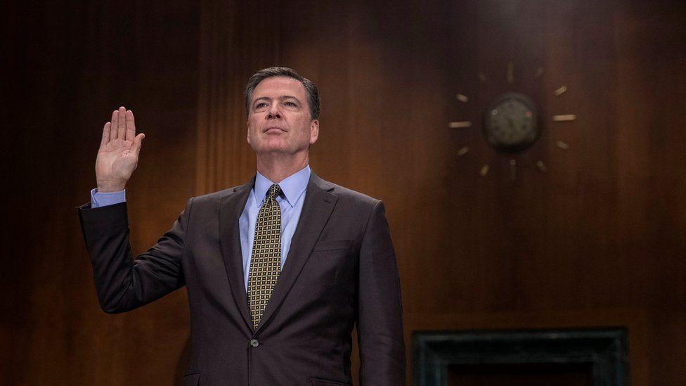 James Comey testifies