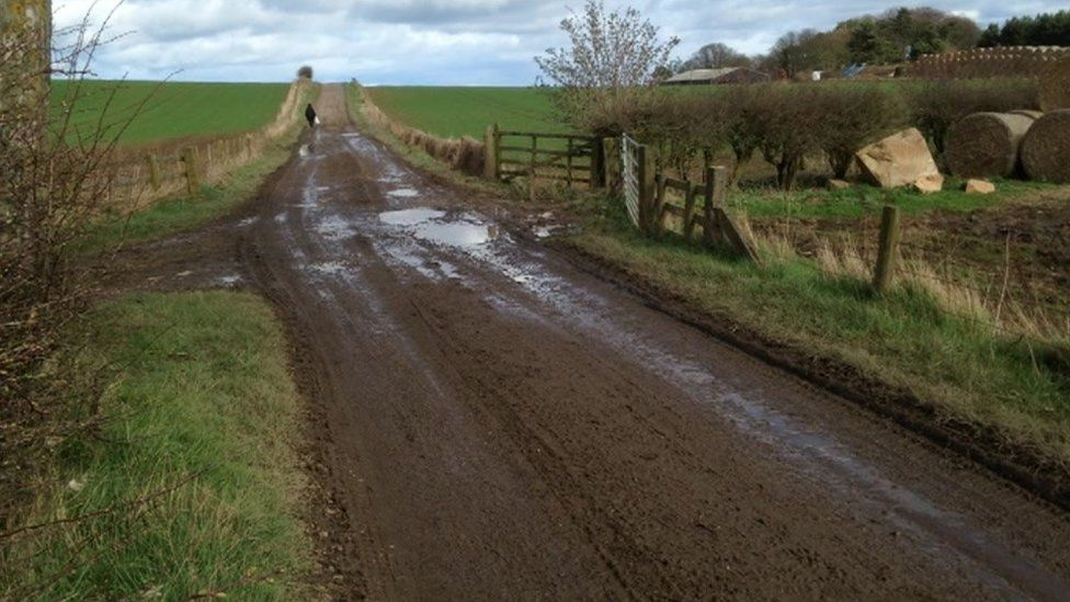 Public bridle path