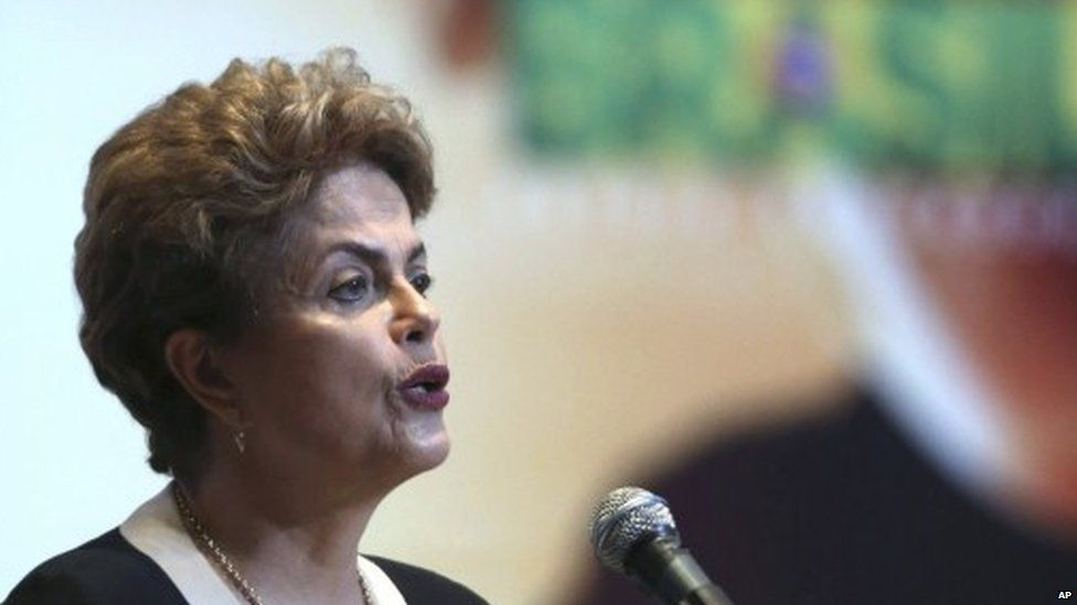President Dilma Rousseff, 7 October 2015