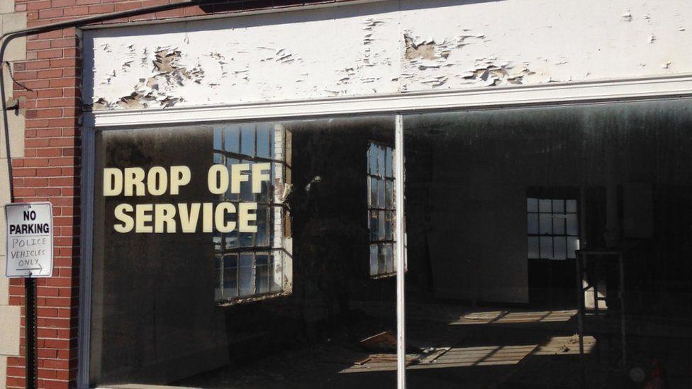 A closed down store in Ohio