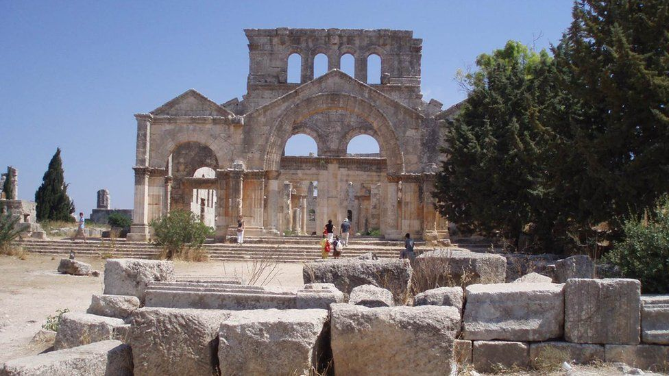 "Ancient ruins of Syria's ""Dead Cities"""