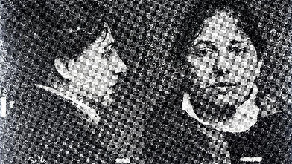 Police photo of Mata Hari
