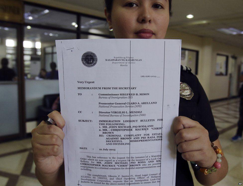 Philippine Bureau of Immigration, deputy spokesperson Dana Mengote