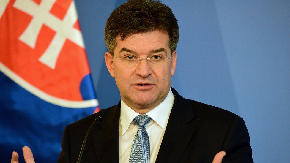 Slovakia Foreign Minister Miroslav Lajcak