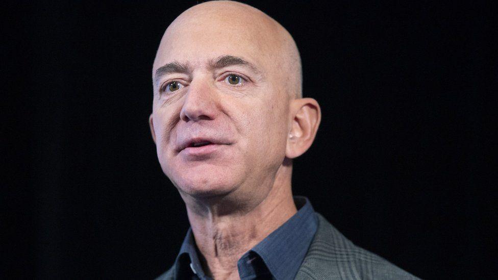 Jeff Bezos in 2019