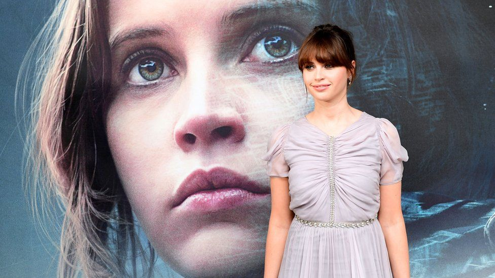 Felicity Jones stars in Rogue One