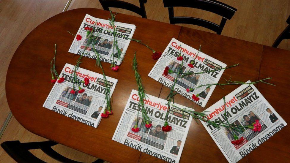 Cumhuriyet copies, 1 November