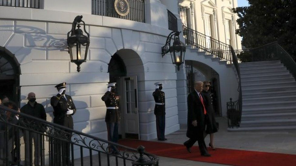 Trump leaves White House for final time ahead of Biden inauguration thumbnail