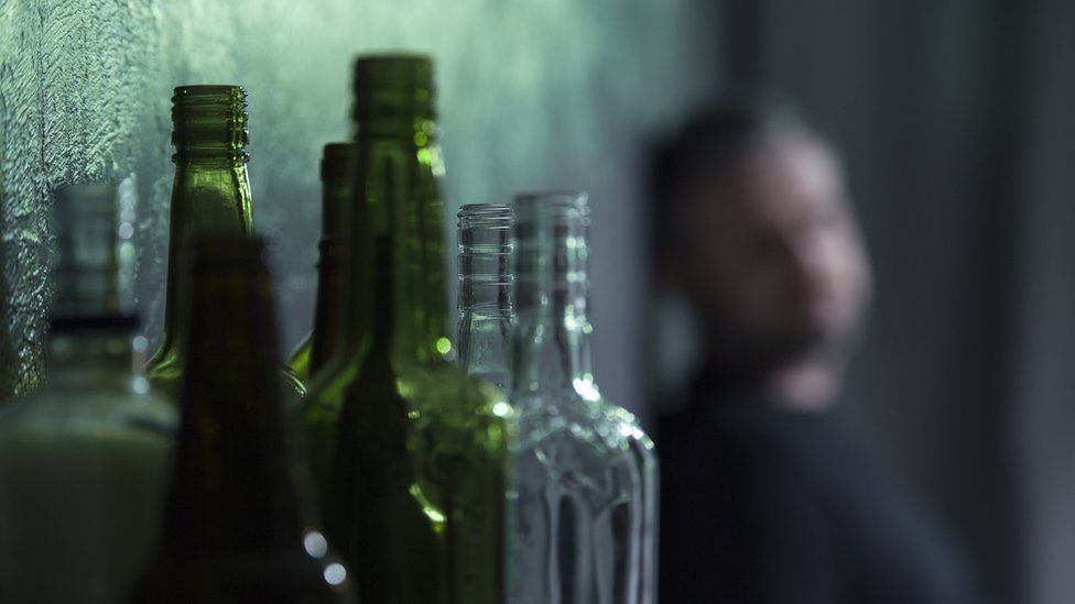 Alcoholism generic image