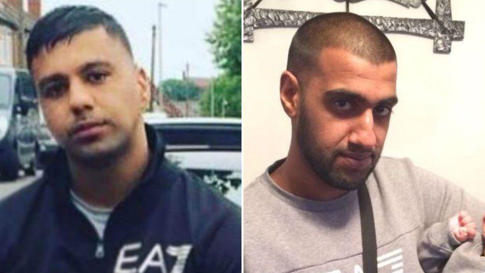 Tauqeer Hussain (L) and Mohammed Fahsha (R)