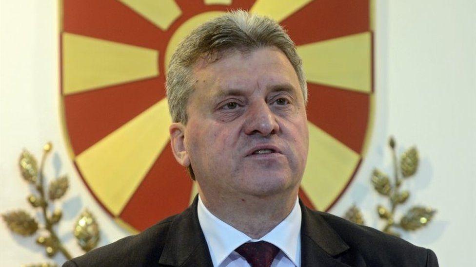 Macedonian President Gjorge Ivanov. Photo: 12 April 2016