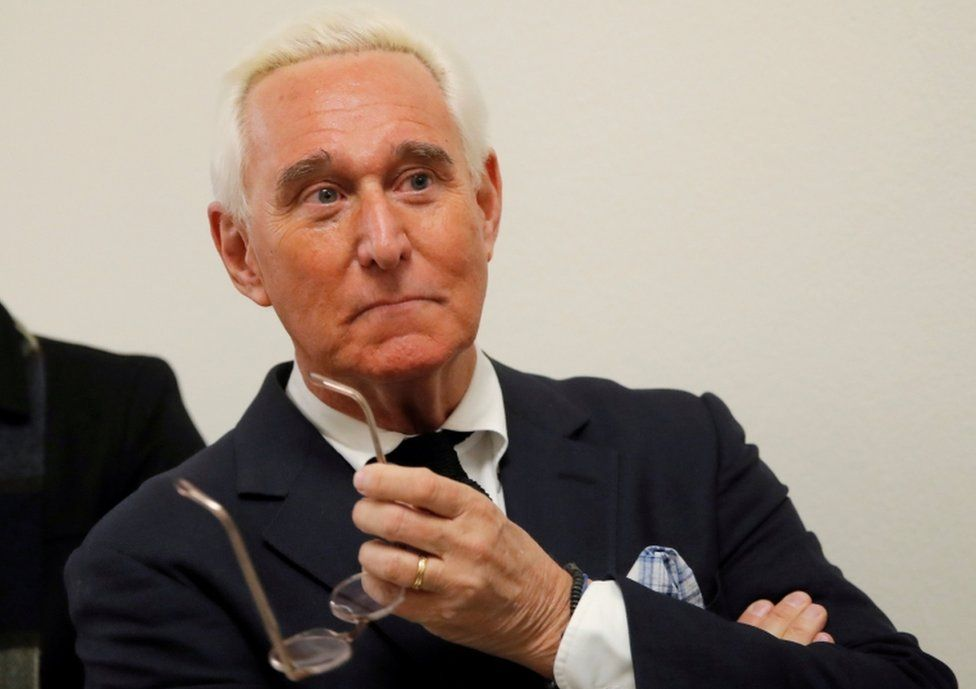 Roger Stone pictured in December 2018.