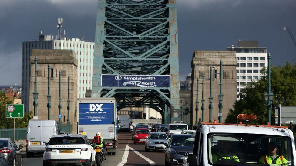 Newcastle and Gateshead clean air toll plans face rethink