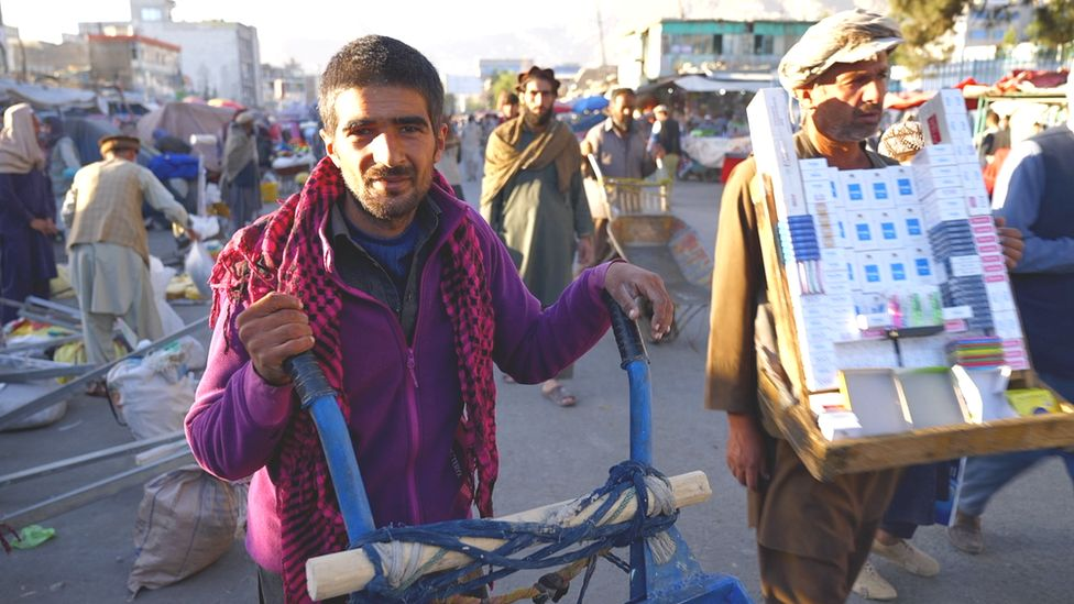 Labourers in Kabul