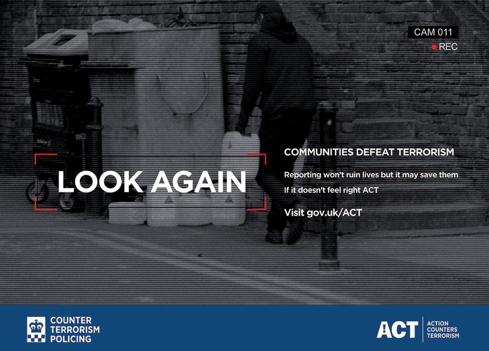 Counter-terrorism police advert
