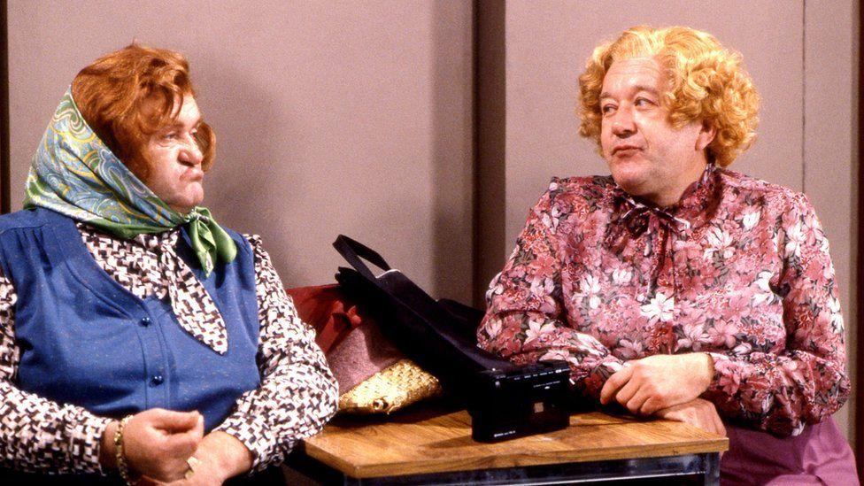 Les Dawson and Roy Barraclough