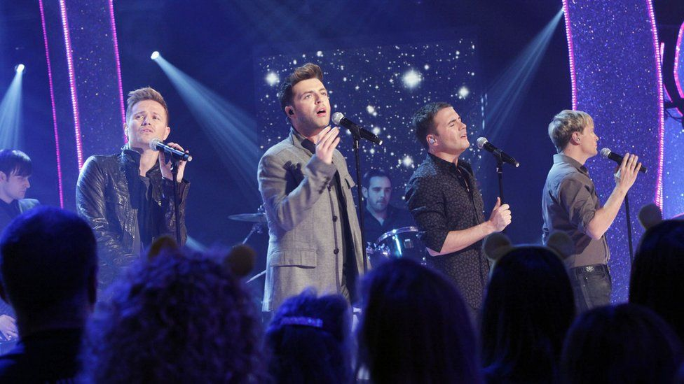 Westlife perform for Children in Need