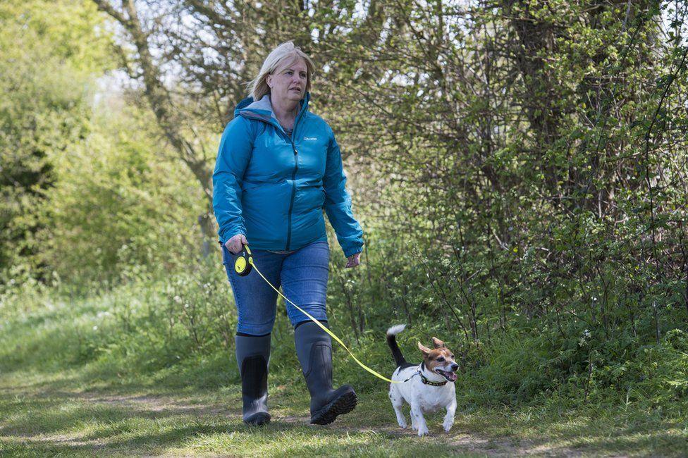 Actress retracing Julia James's last walk