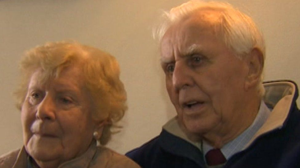 Edith and Brian Perkins