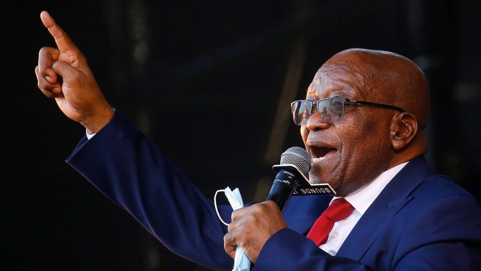 South Africa: Jacob Zuma Begins His 15-Months Jail Sentence As He Hands Himself To The Police