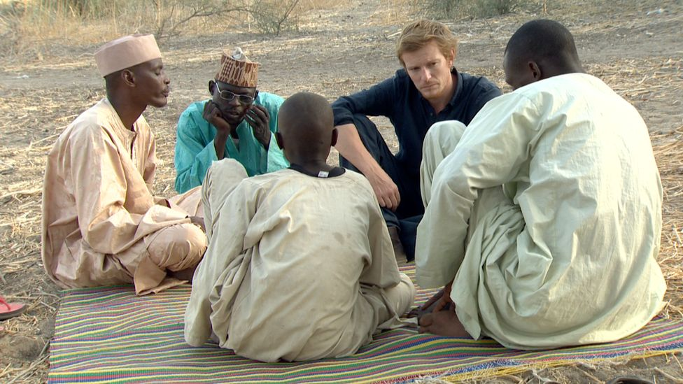 The BBC's Thomas Fessy speaks to two Chadians who escaped from Boko Haram