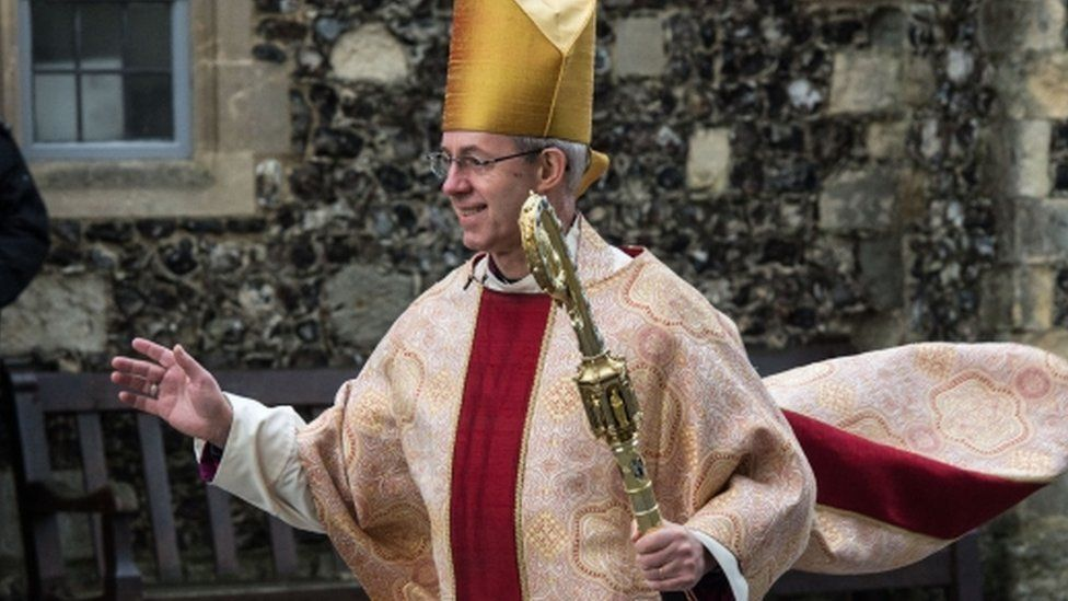 Justin Welby, Archbishop of Canterbury