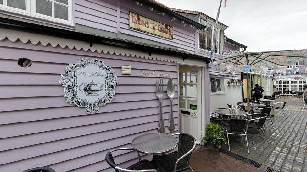 Mrs Salisbury's Tea Rooms in Maldon