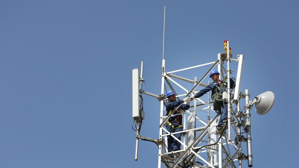 Huawei 5G mast