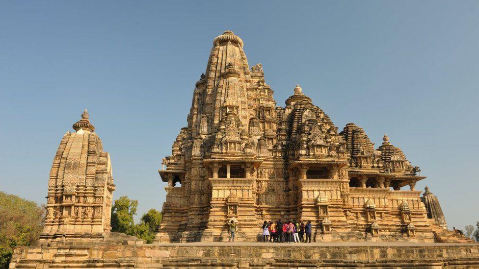 Khajuraho temples are a popular tourist destination