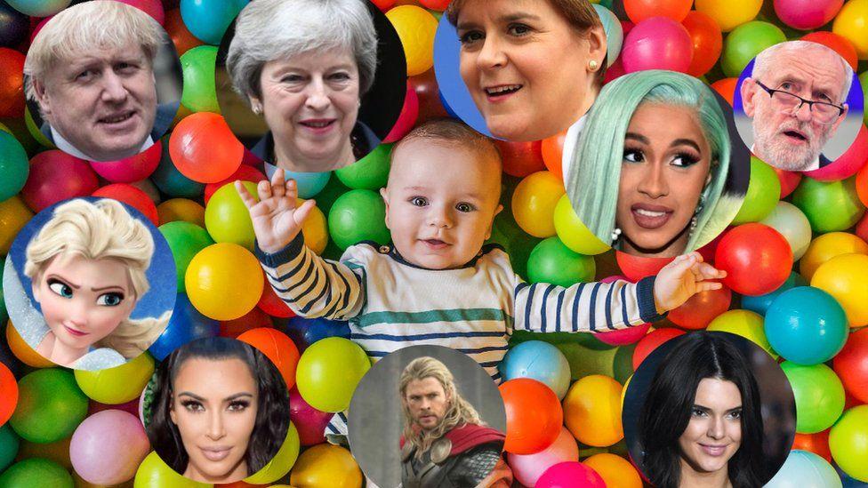 Scotland's 2018 baby names