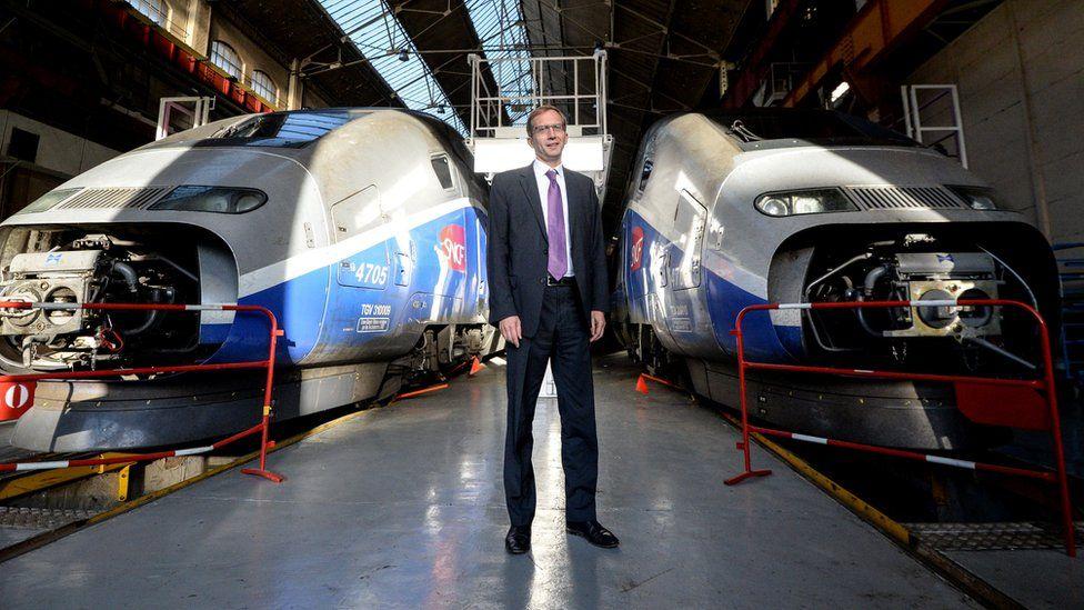 Alstom chief Henri Poupart-Lafarge