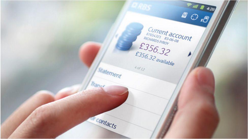 RBS banking app