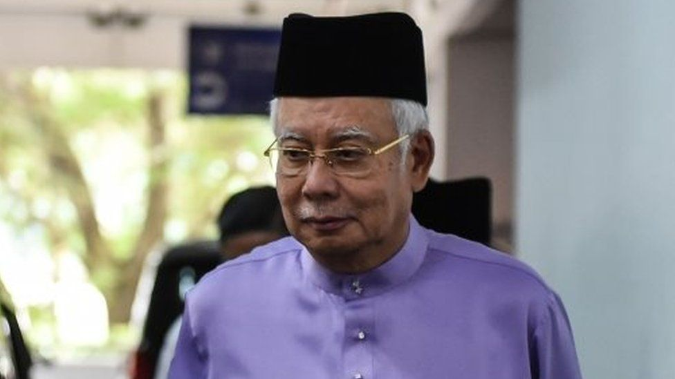 Malaysia's former Prime Minister Najib Razak. Photo: 18 May 2018