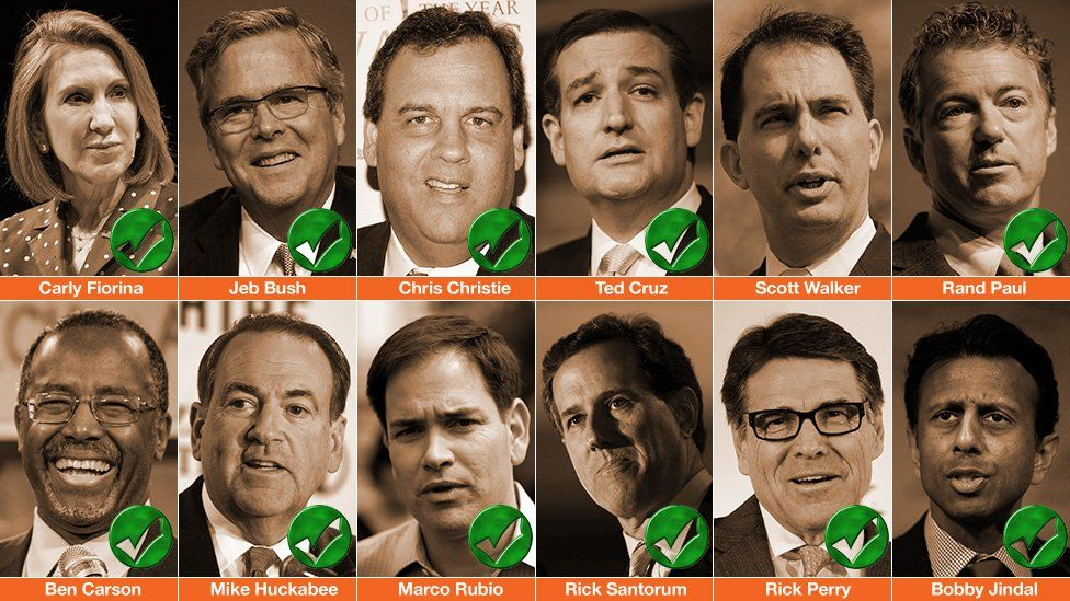 Photos of all the Republican candidates announced for the 2016 presidential race