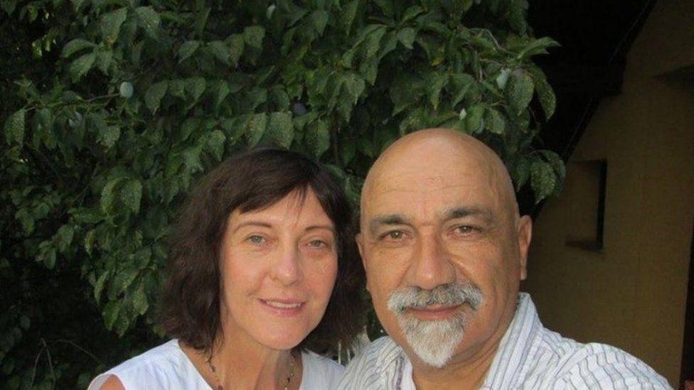 Azra Sabados and Mirza Krupalija