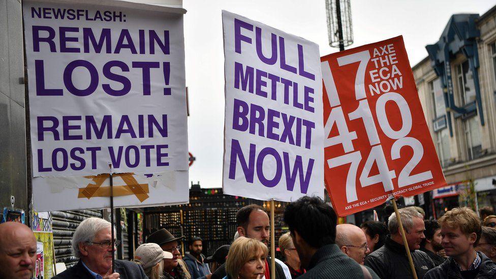 Pro-Brexit campaigners