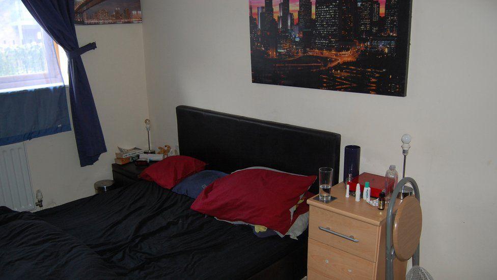 Stephen Port's bed