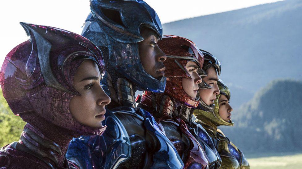 The new Power Rangers film